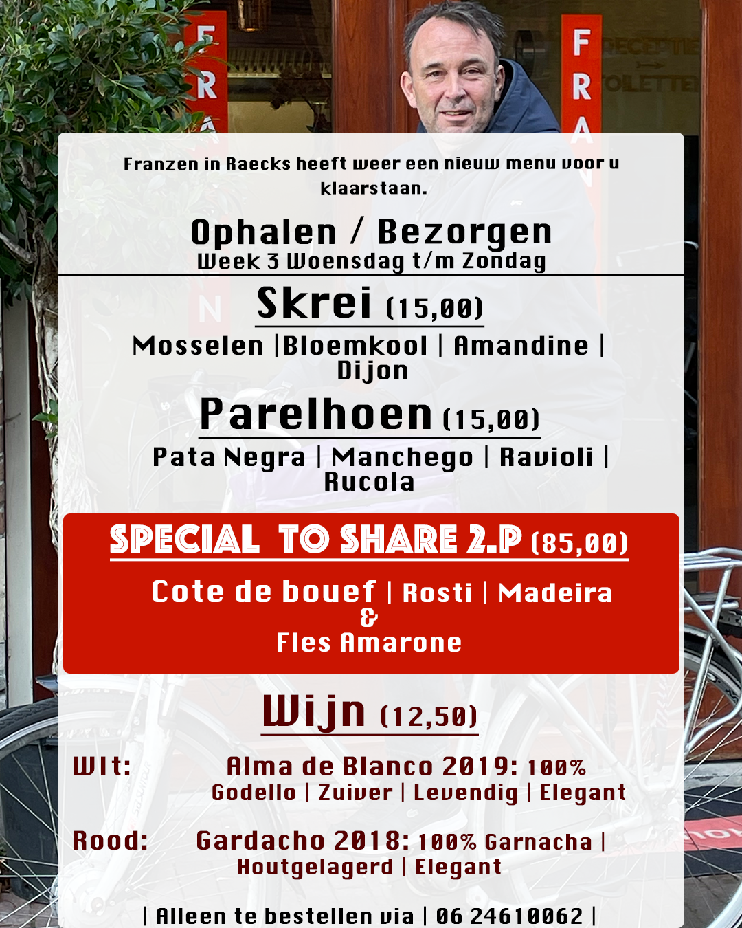 week 3 menu Restaurant Franzen